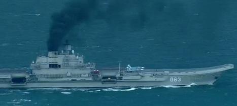 Le groupe aéronaval russe est suivi de près par la Royal Navy | PHMC Press | Scoop.it