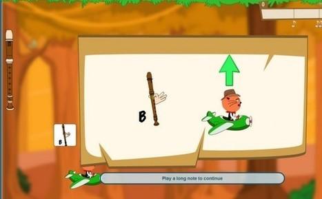 JoyTunes, una web para niños que tocan el piano y la flauta | Música, tecnología y educación. | Scoop.it