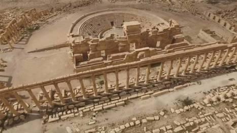 Syrie: un drone a filmé les destructions causées par l'EI au site de Palmyre (vidéo) | Bibliothèque des sciences de l'Antiquité | Scoop.it