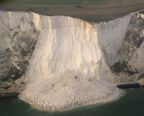 Erosion: The White Cliffs of Dover | Geography Education | Scoop.it