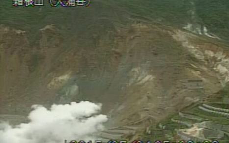 #Japan Meteorological Agency found 3 more craters in Mt. #Hakone major volcanic eruption possible | Messenger for mother Earth | Scoop.it