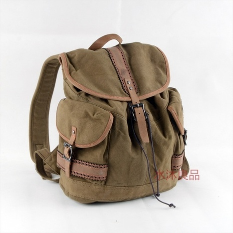 womens fashion | personalized canvas messenger bags and backpack | Scoop.it
