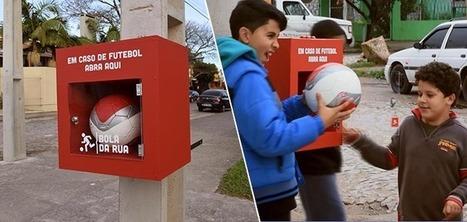 Des distributeurs de ballons en libre accès pour les enfants | Plusieurs idées pour la gestion d'une ville comme Namur | Scoop.it