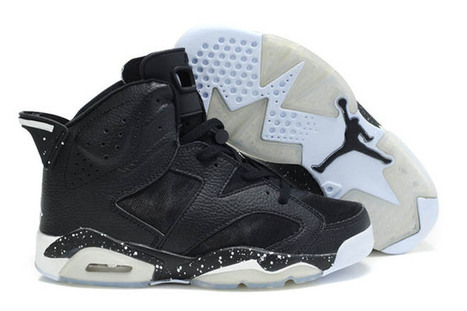 Michael Air Jordan 6 Mesh Nike Black And White Basketball Shoes | my style | Scoop.it