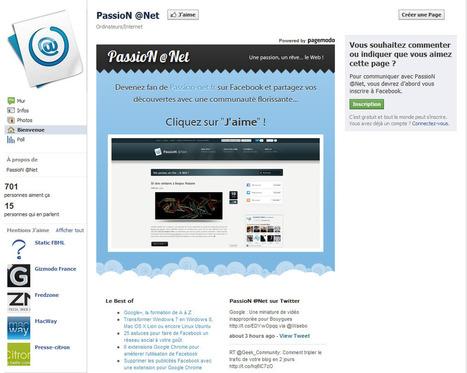 Créer une landing page Facebook de qualité en 15 minutes | Facebook pour les entreprises | Scoop.it
