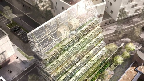 Agriculture meets architecture in France's urban farm tower | Design Indaba | #Sustainability | Scoop.it