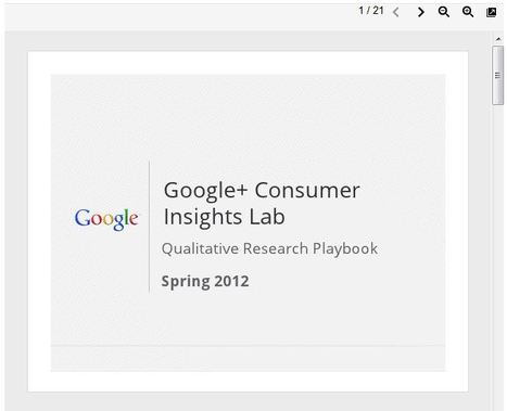 Google+ Qualitative Research Playbook – Think Insights – Google | SM Infographics | Scoop.it