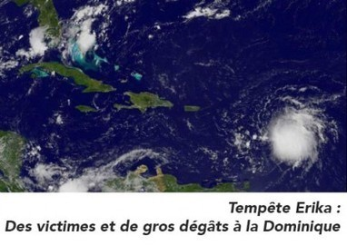 Tempête Erika : Des victimes et de gros dégâts à la Dominique | Les infos de SXMINFO.FR | Scoop.it