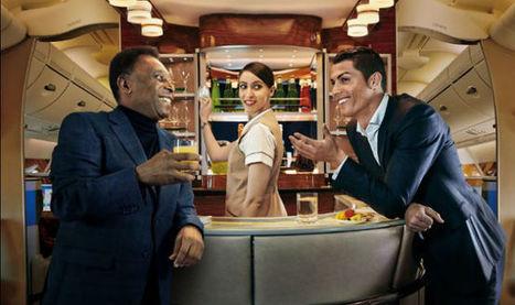Emirates advertisement: What happens when Cristiano Ronaldo and Pele are ... - India.com | Publicitat | Scoop.it