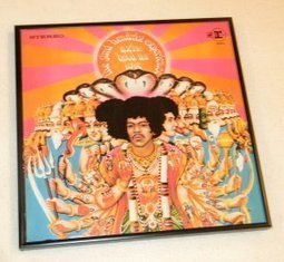 Framed Vintage Record Album  -  Jimi Hendrix Experience - Axis Bold as Love   Album covers   Scoop.it