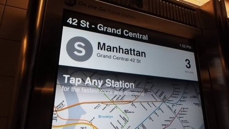 NYC's Touchscreen Subway Maps Are Finally Here, and They're Amazing | Social Media, the 21st Century Digital Tool Kit | Scoop.it