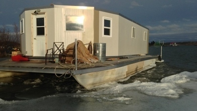 Randy Sibbeston still refuses to move Yellowknife houseboat | NWT News | Scoop.it