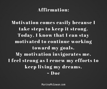 Affirmation: Stoking The Flames Of Motivation | Learning At Work | Scoop.it