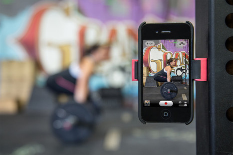 Perchmount Fit - A Phone Mount For Your Workout - | fitness apparel and crossfit gear | Scoop.it