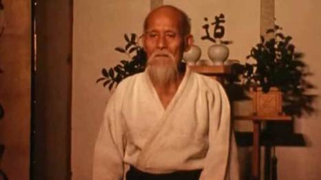 Founder of Aikido Morihei Ueshiba Performs Demonstration In Rare Footage | Spirit of Aikido | Scoop.it