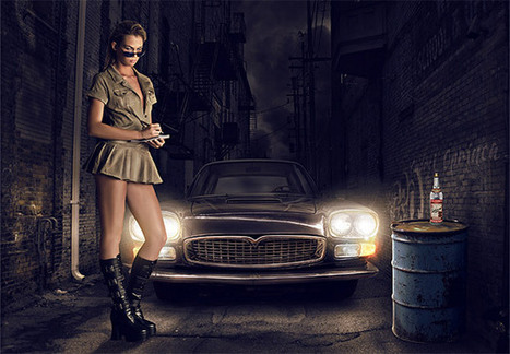 Advanced Lighting Photomanipulation Tutorial | Photoshop Photo Effects Journal | Scoop.it