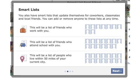 [astuce] Facebook s'inspire de Google Plus en testant les Smart Listes | Accessoweb.com | Social Media Curation par Mon Habitat Web | Scoop.it