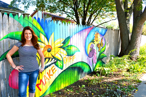 The Graffiti Experiment: Please Help Save My Fence | Annie Haven | Haven Brand | Scoop.it