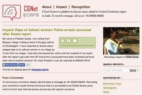 Periodismo ciudadano para luchar contra las violaciones en India a través de CGnet Swara | Periodismo Ciudadano | Periodismo Ciudadano | Scoop.it