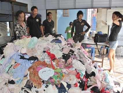 Thai Man Collects 11,000 Pairs of Women's Underwear in 30 Years | Strange days indeed... | Scoop.it