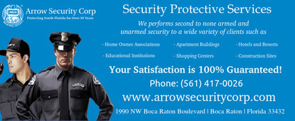 Protect your property from criminals With Arrow Security Corp | Arrow Security Corp | Scoop.it