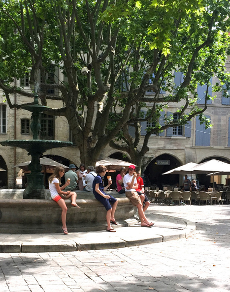 The Simple Ways Tourists Make the Best of Hot Weather in Uzes | Discover Sigalon Valley - Where the Tags are the Topics | Scoop.it