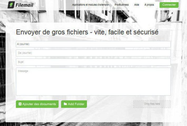 Filemail : envoyer des fichiers volumineux par mail | Le Newbie | TIC et TICE mais... en français | Scoop.it