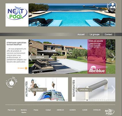 Eurospapoolnews.com - Nouveaux sites internet de Nextpool, Albiges, Albon, Sterilor, Abriblue | Nextpool : solutions pour les pros de la piscine | Scoop.it