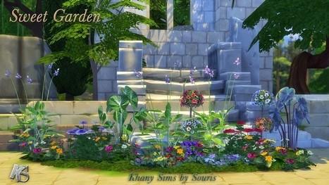 Set de Fleurs << Souris surKhany Sims | Les Sims | Scoop.it