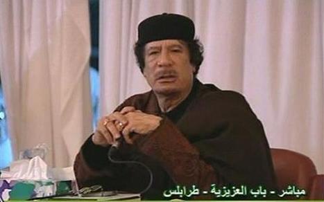 Gadhafi: UN Resolution on Libya 'Invalid' | Coveting Freedom | Scoop.it