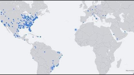 Facebook Live Map gives unusual look at the world   MarketingHits   Scoop.it