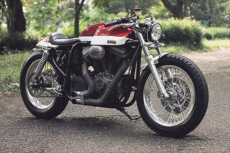 '07 Buell Ulysses XB12X - Studio Motors | custom cafe racer | Scoop.it