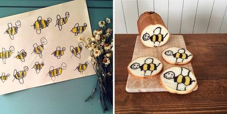 Cette maman japonaise transforme les dessins de son fils en adorables petits pains | Boulangerie | Scoop.it