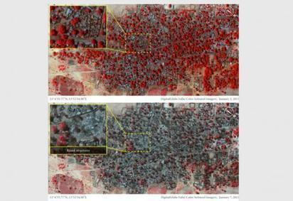 NIGERIA • Baga : cartographie d'un massacre de masse - Courrier International | Cartographie culturelle | Scoop.it