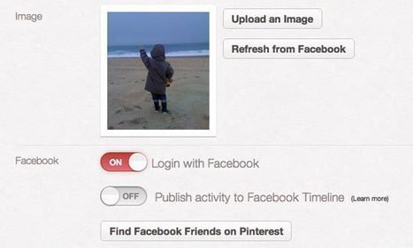 Pinterest : empêchez vos pins d'atterrir sur Facebook | Time to Learn | Scoop.it