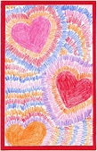 Art Projects for Kids: Radiating Hearts | art attack | Scoop.it