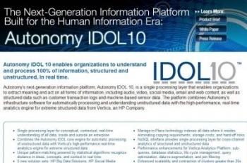Web et Social Analytics : HP mise sur Autonomy - Journal du Net | les services et les nouvelles tendances | Scoop.it
