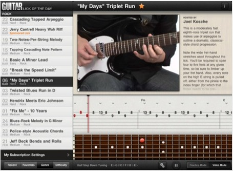 Best iPad Apps for Learning Guitar | iPad Apps | Best iPad Apps | Best ipad apps | Scoop.it