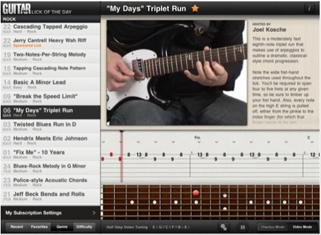 Best iPad Apps for Learning Guitar | iPad Apps | Best iPad Apps | iPads and Other Tablets in Education | Scoop.it