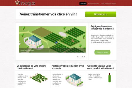 Internet : Vinoga, un jeu pour boire ce que l'on aimerait produire | WebWine | Scoop.it
