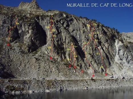 A l'assaut de la muraille de Cap-de-Long - Christophe Huguet | Facebook | Vallée d'Aure - Pyrénées | Scoop.it