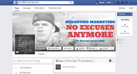 "My new Fanpage ""NEW ERA SOCIAL NETWORK"" | Marketing Tools | Scoop.it"
