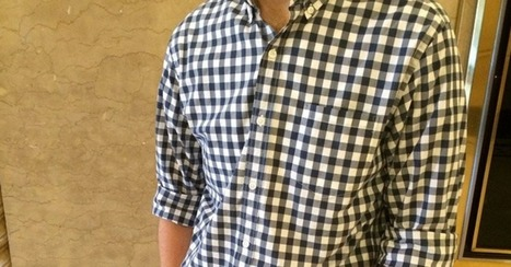 Instagrammer Logs the World Domination of a J. Crew Blue Gingham Shirt | Conversation visuelle | Scoop.it