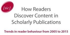 Comment les lecteurs découvrent les publications académiques ? Les réseaux sociaux vont-ils dépasser les bases de données ?   Classeur virtuel   Scoop.it
