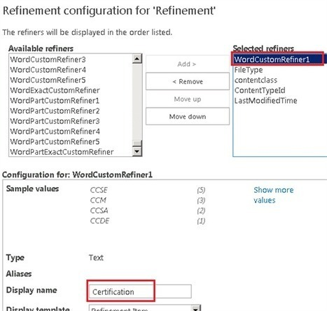 Improve navigation through search results using refiners based on custom entities - SharePoint IT Pro Blog - Site Home - TechNet Blogs | Share Point | Scoop.it