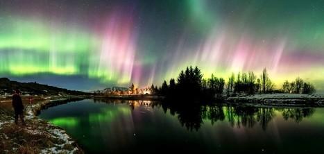 Litrík Stormur, une tempête de couleurs dans la nuit islandaise! | Merveilles - Marvels | Scoop.it