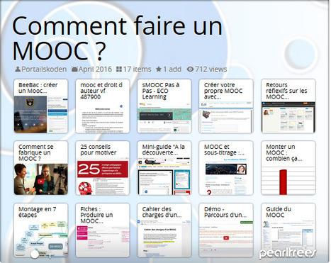 Portail Skoden pour la formation ouverte et à distance - Comment faire un MOOC ? | paprofes | Scoop.it