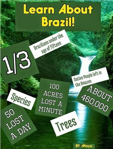 brazil.png (427×563) | Grade 6 - Diversity of Living Things | Scoop.it