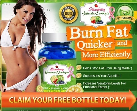 Strawberry Garcinia Cambogia Review - Side Effect Free, Quick Weight Loss! | malsin avels | Scoop.it