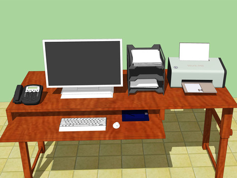 How to Set Up an Ergonomically Correct Workstation | OHS Quest 2 | Scoop.it